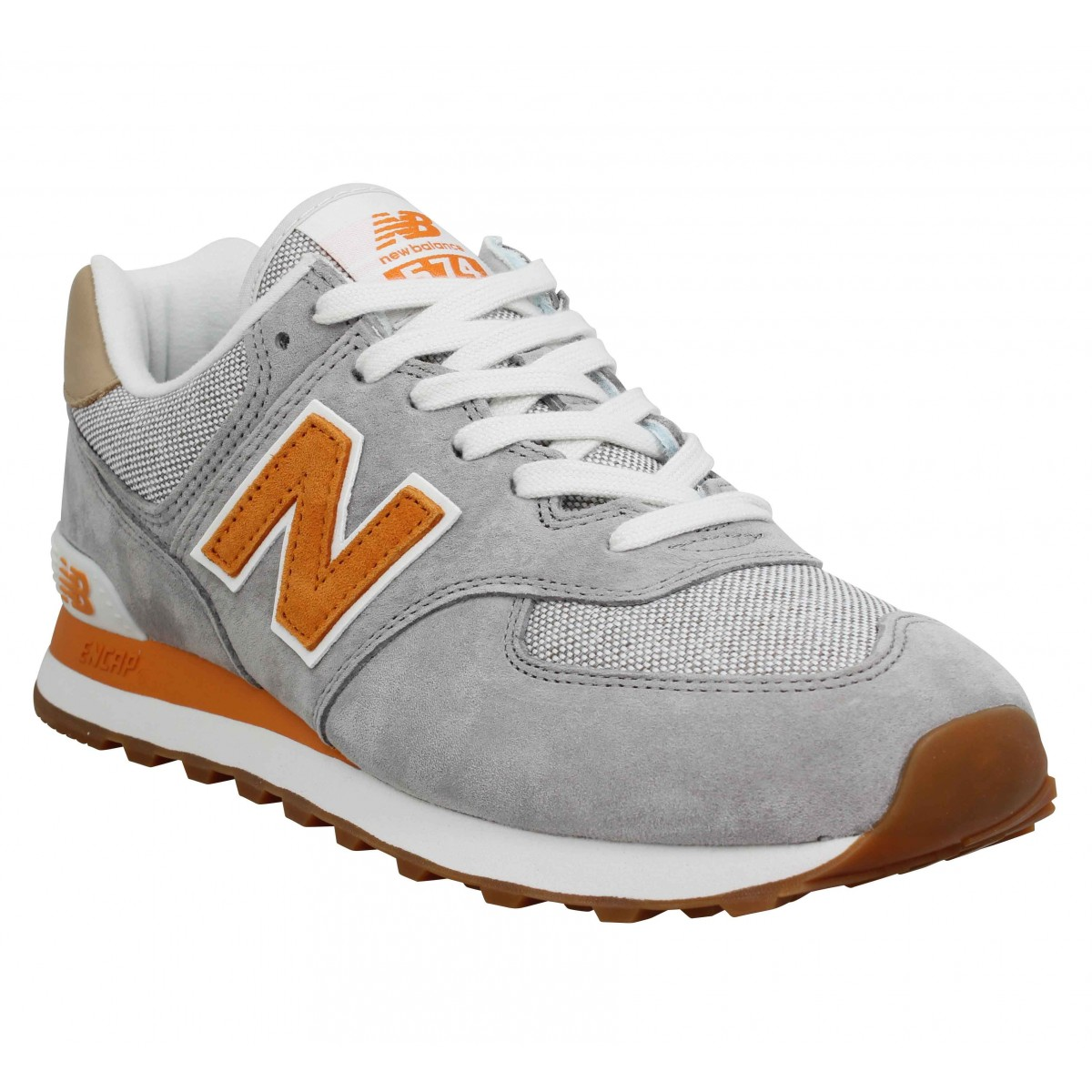 new balance orange homme