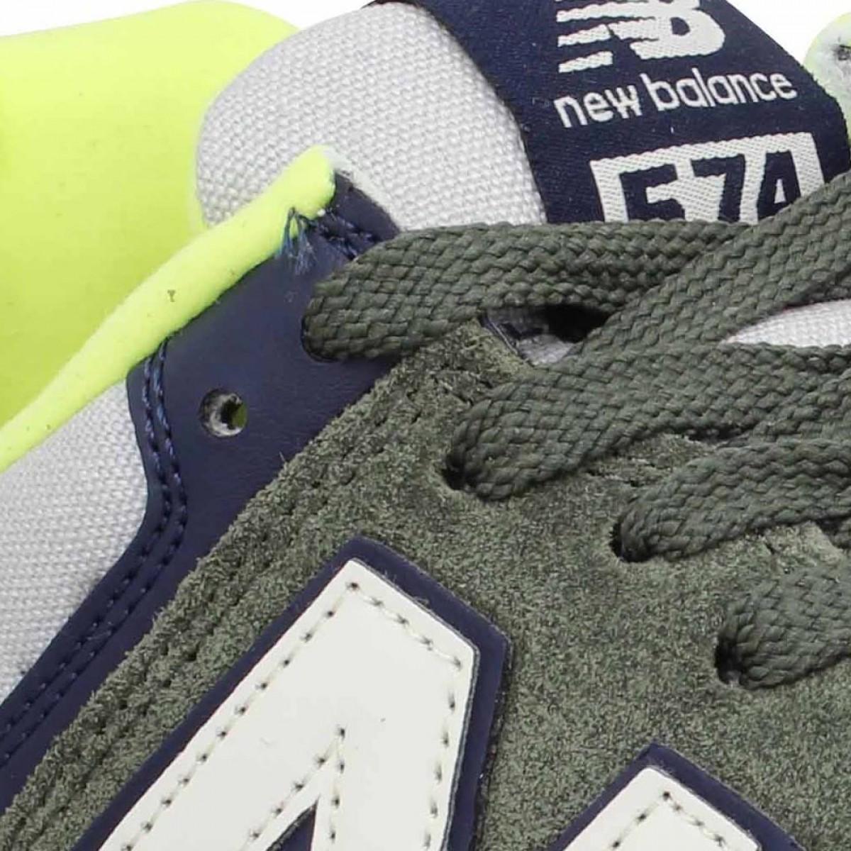 new balance 574 vert kaki