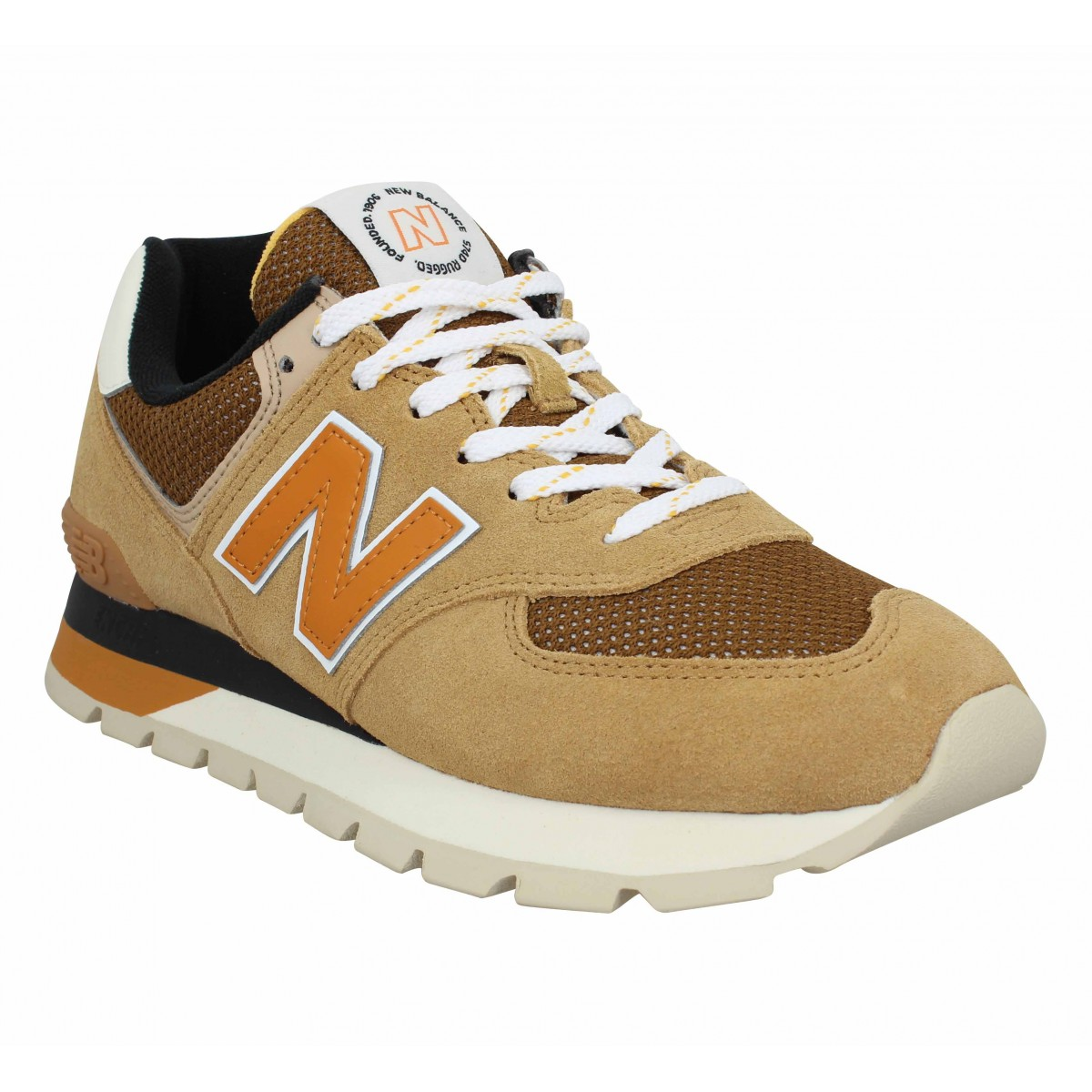 New Balance Homme 574 Velours Toile...