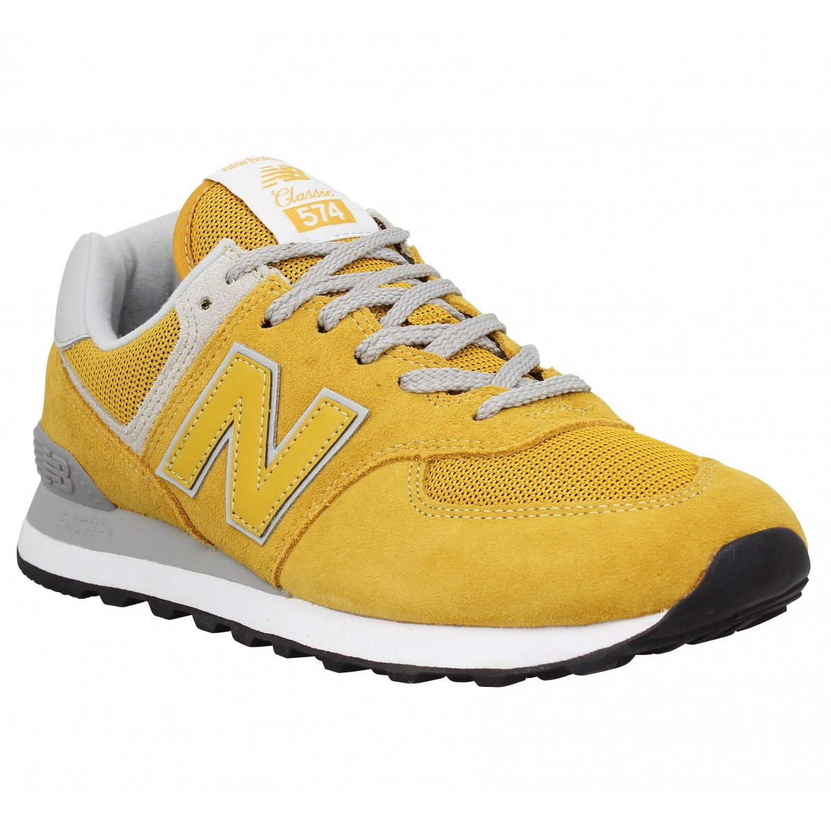 New Balance Marque 574 Velours Toile...