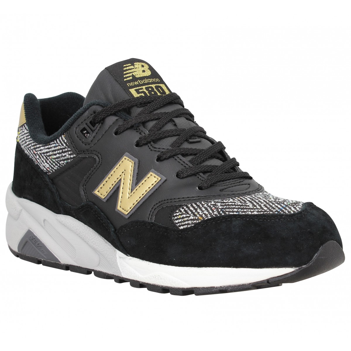 Baskets NEW BALANCE 580 Noir