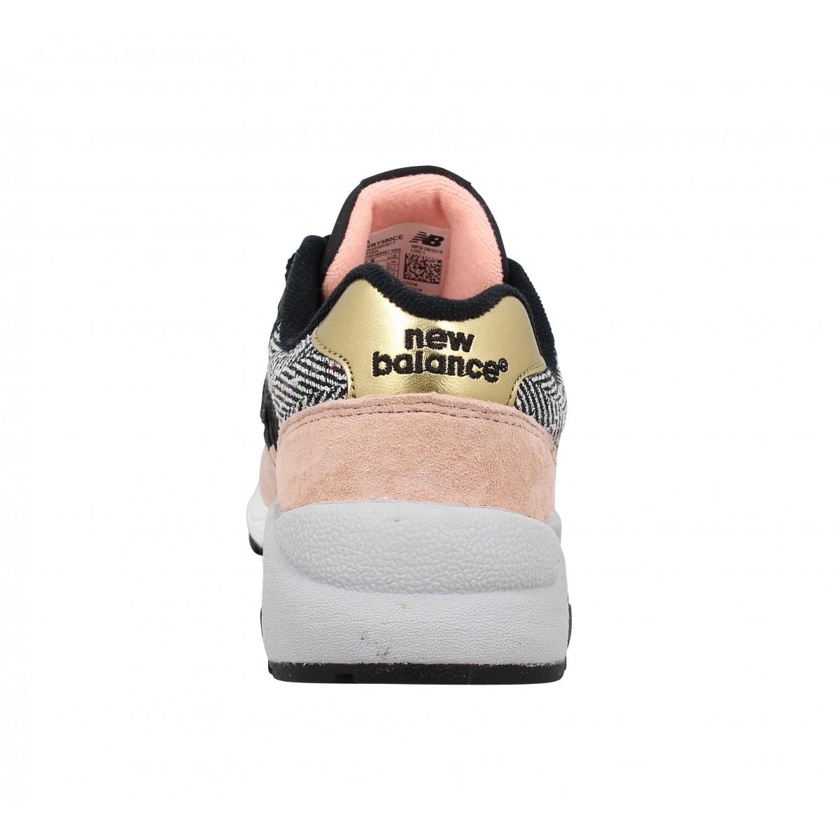 New balance 580 noir rose femme | Fanny chaussures
