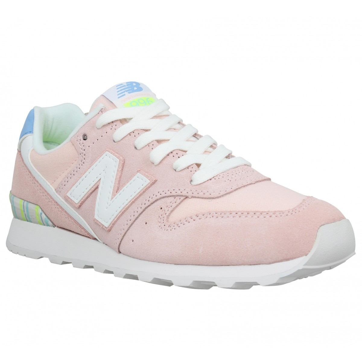 Baskets NEW BALANCE 996 Femme Rose