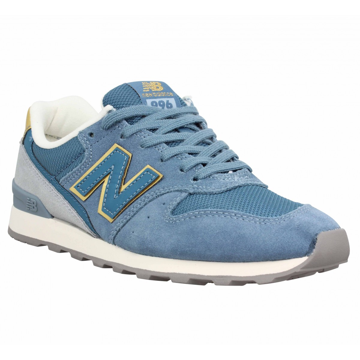 Baskets NEW BALANCE 996 velours Femme Bleu
