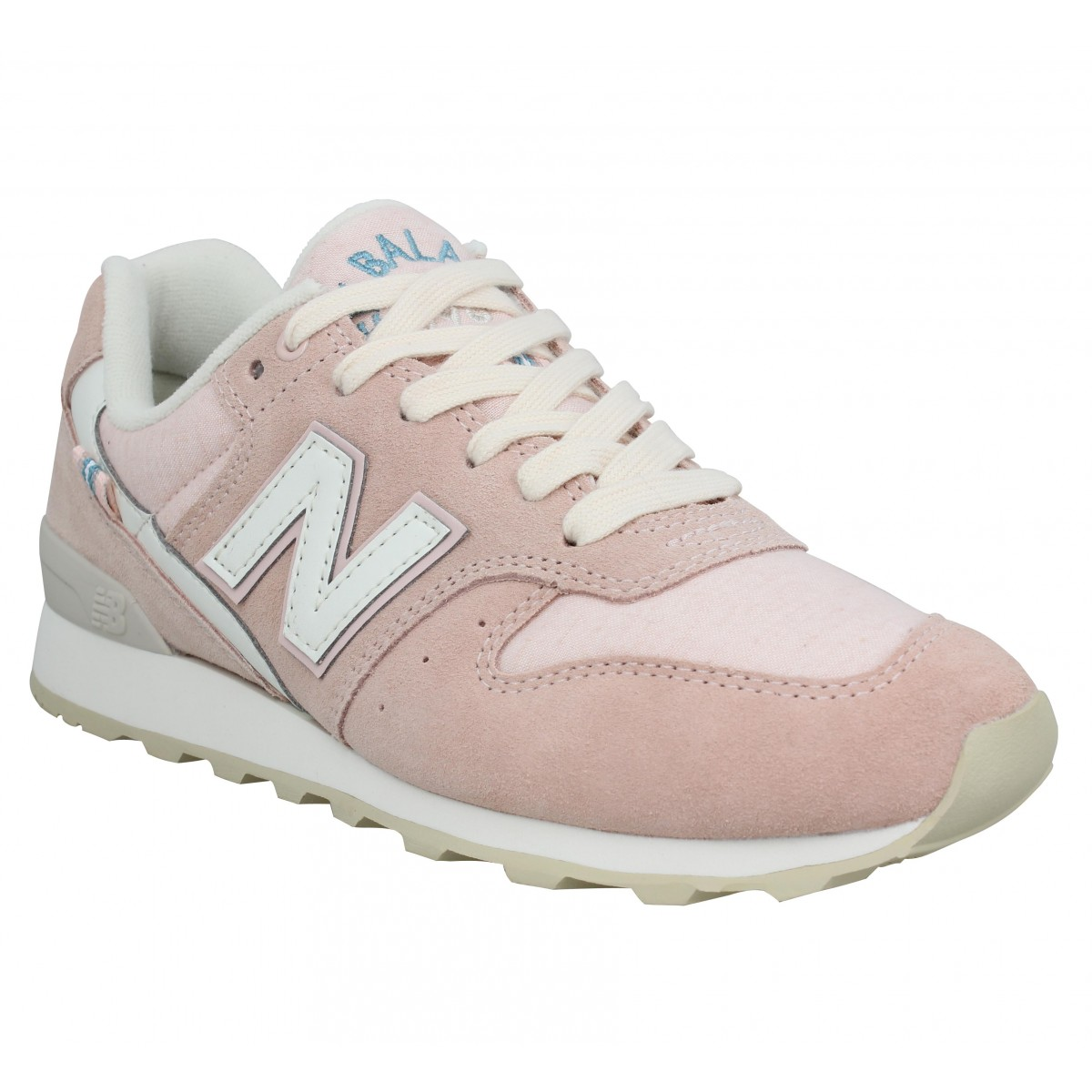 grossiste 8c9d7 122cf NEW BALANCE 996 velours Femme Rose