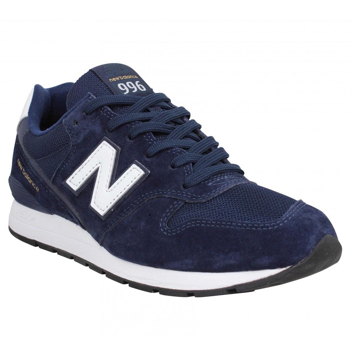 Baskets NEW BALANCE 996 velours Homme Marine