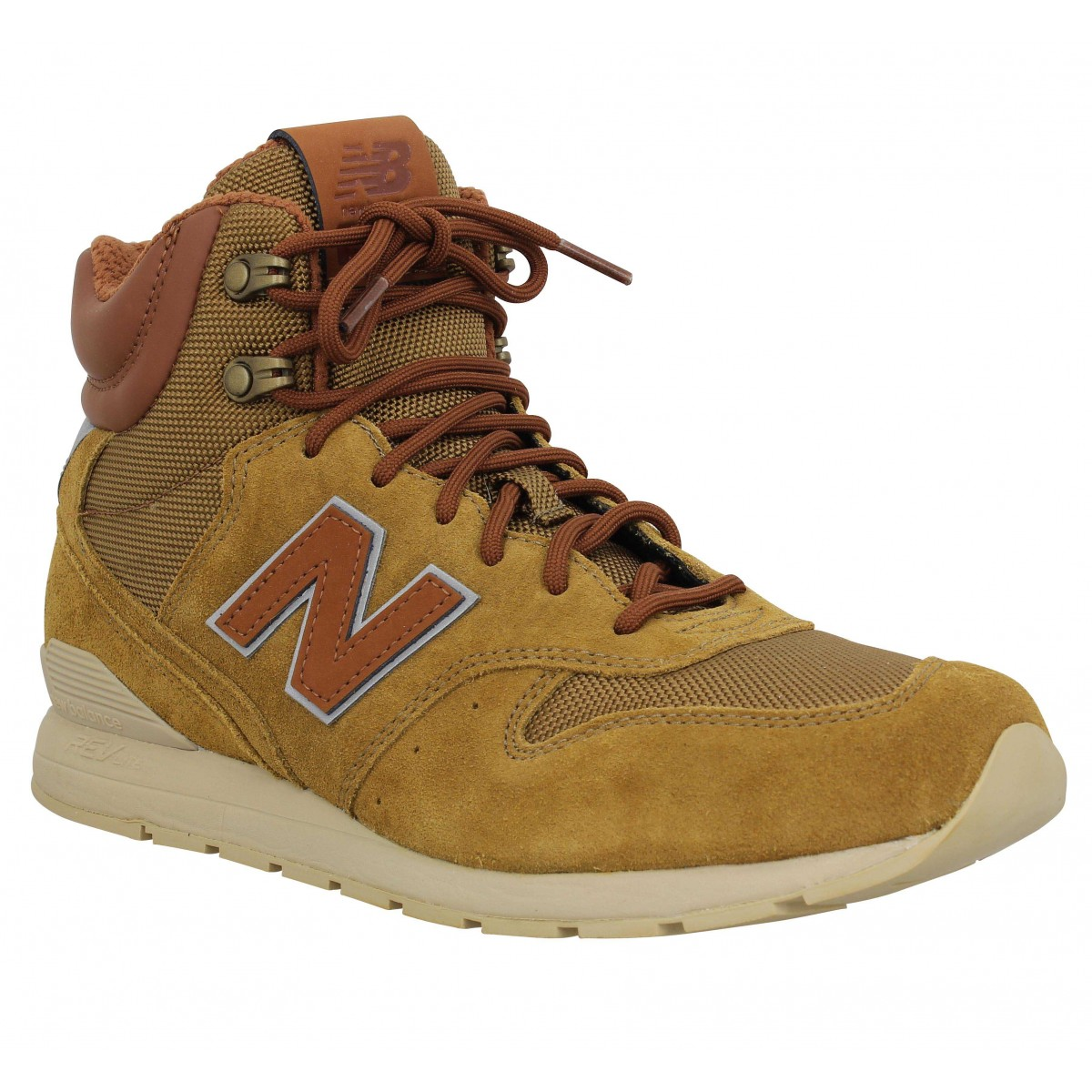 Baskets NEW BALANCE 996 Winter velours toile Homme Camel