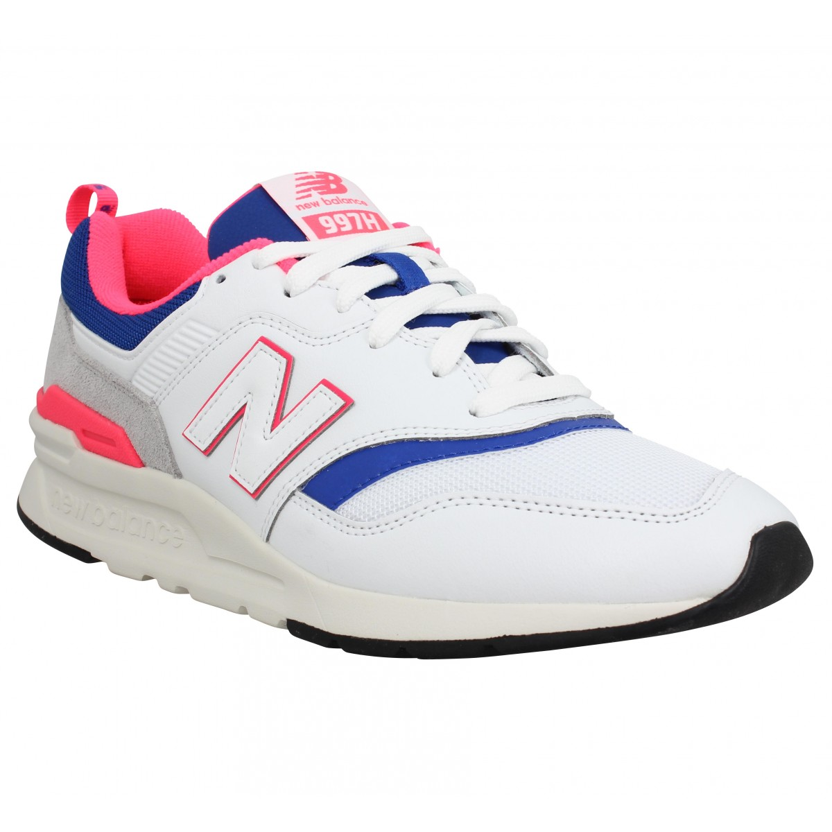 Baskets NEW BALANCE 997 cuir Homme Blanc