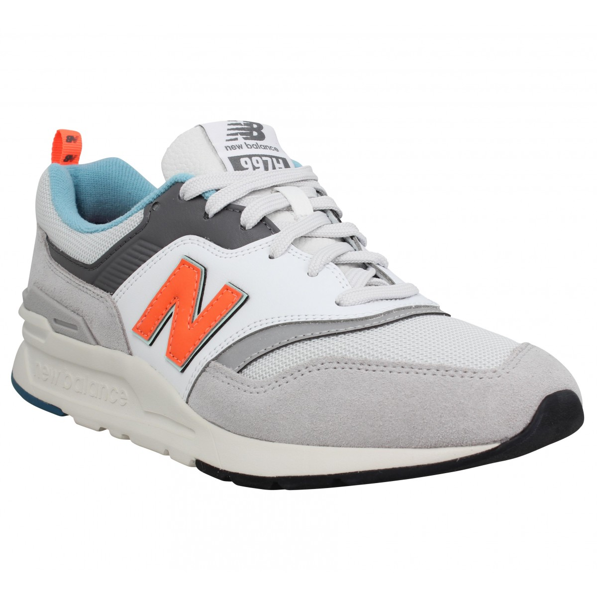 New Balance Homme 997 Toile -41,5-blanc...