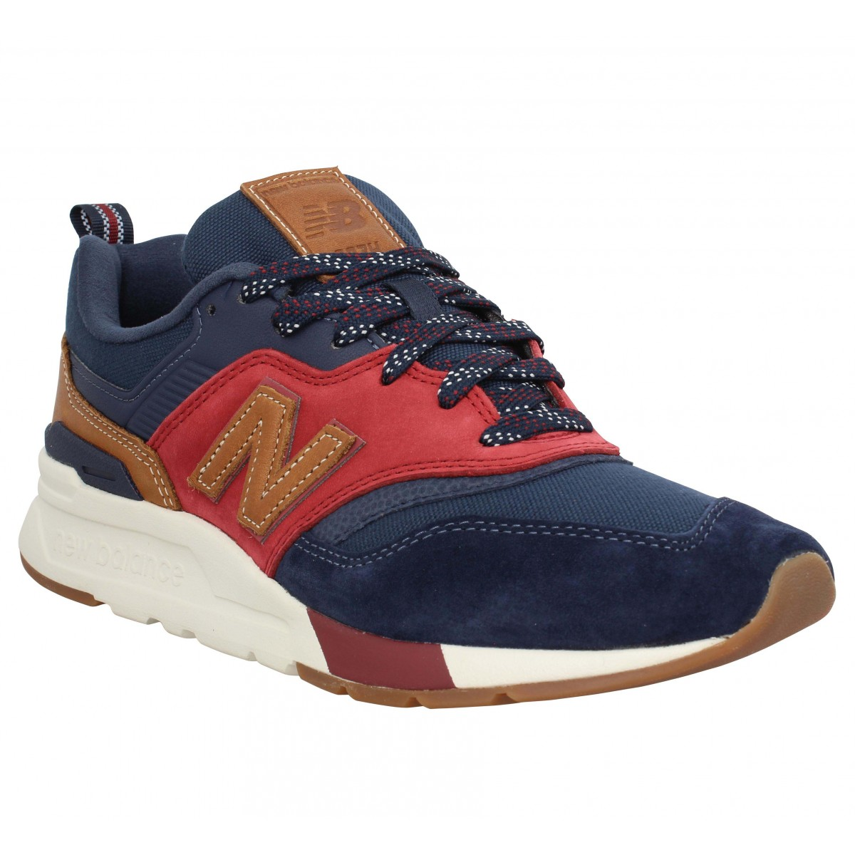 New Balance Homme 997 Velours Toile...