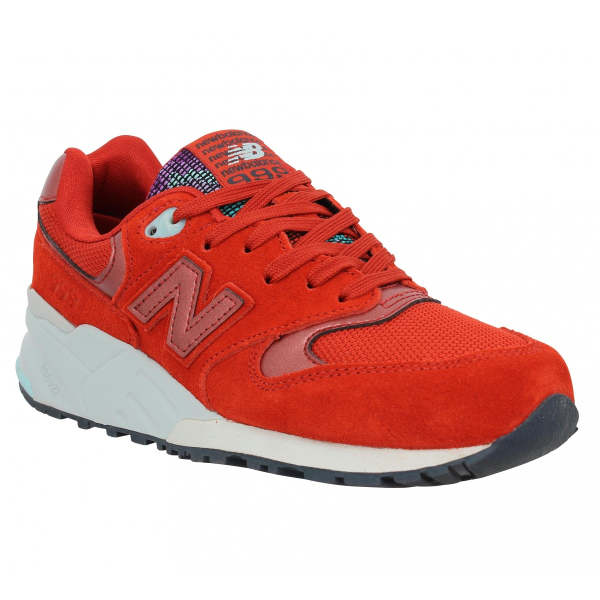 new balance rouge et marron