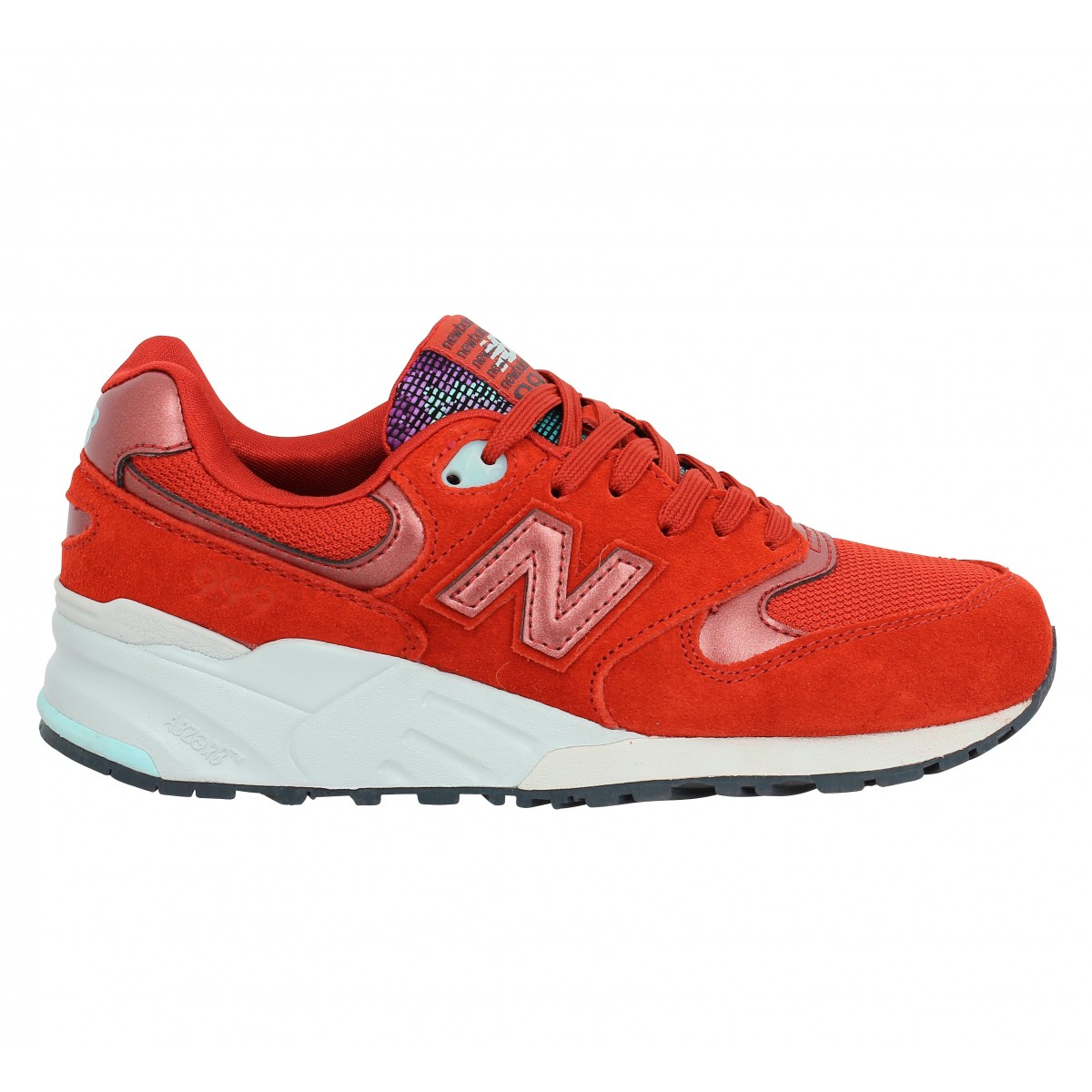 New balance 999 rouge femme | Fanny chaussures