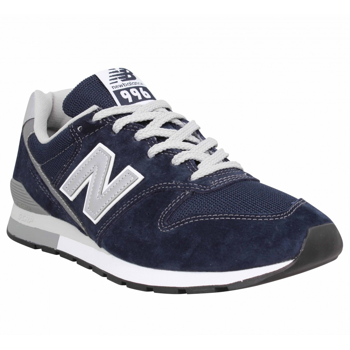 Baskets NEW BALANCE CM 996 velours toile Homme Bleu