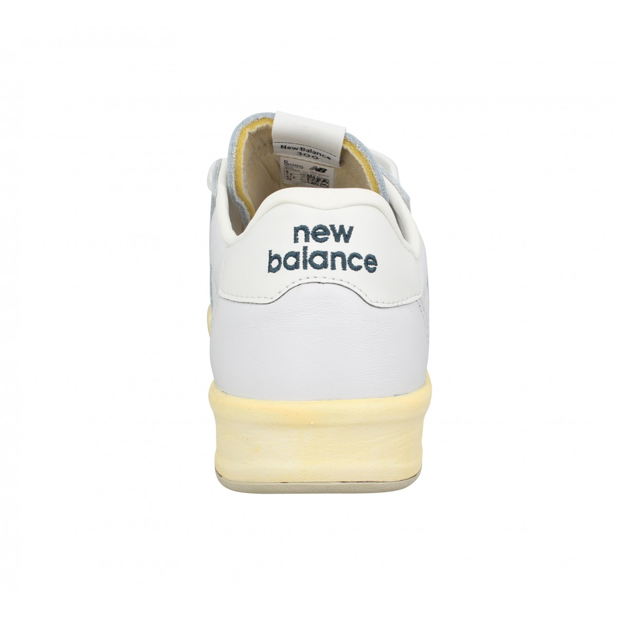 chaussures new balance crt300 cl cuir homme blanc homme. Black Bedroom Furniture Sets. Home Design Ideas