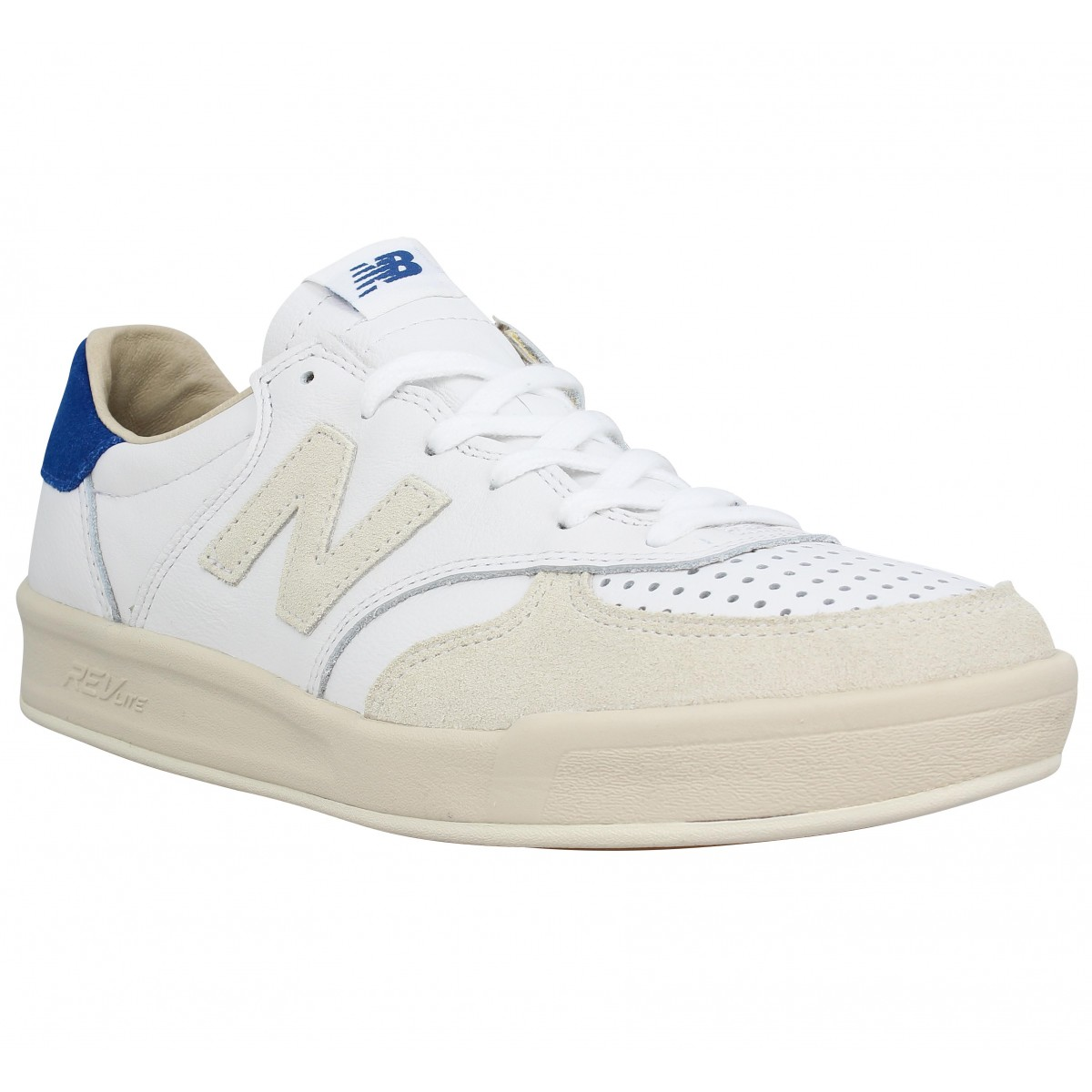wholesale dealer 69159 cc2a2 Baskets NEW BALANCE CRT300 cuir Homme Blanc