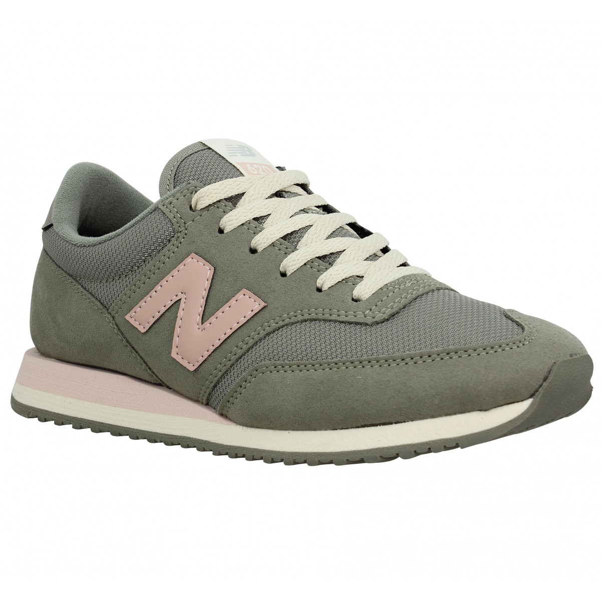 new balance kaki et rose