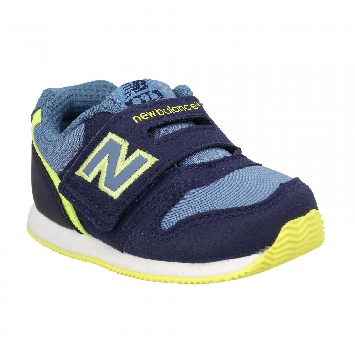 Baskets NEW BALANCE FS996 toile Enfant Marine