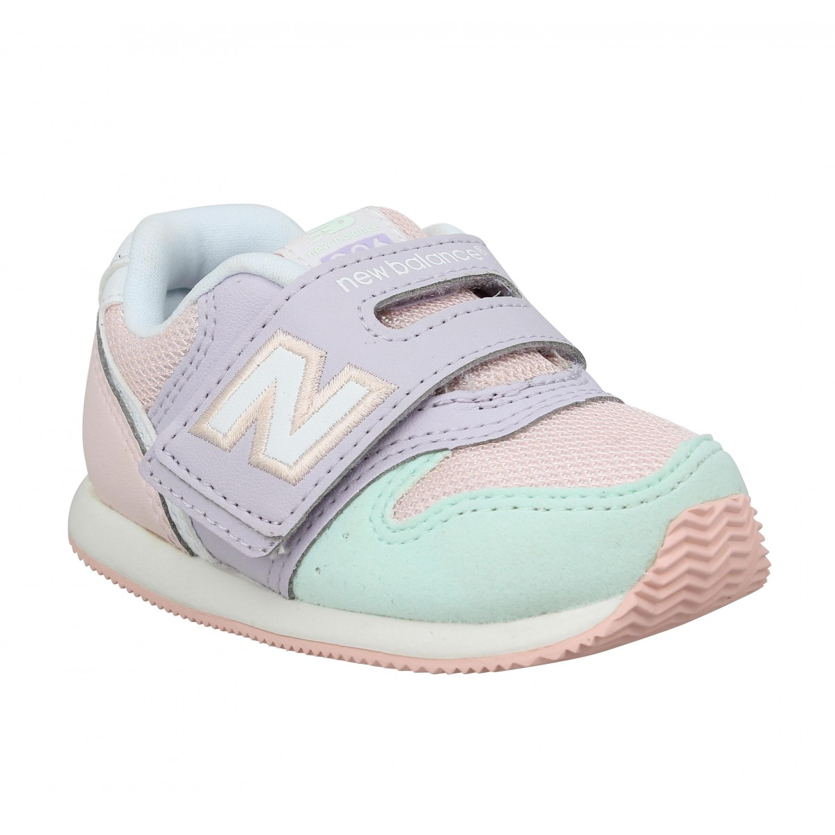 Baskets NEW BALANCE FS996 toile Enfant Pink