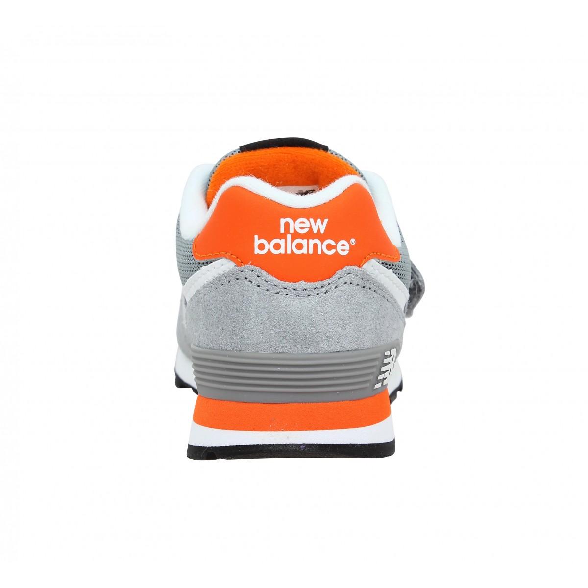 new balance orange enfant