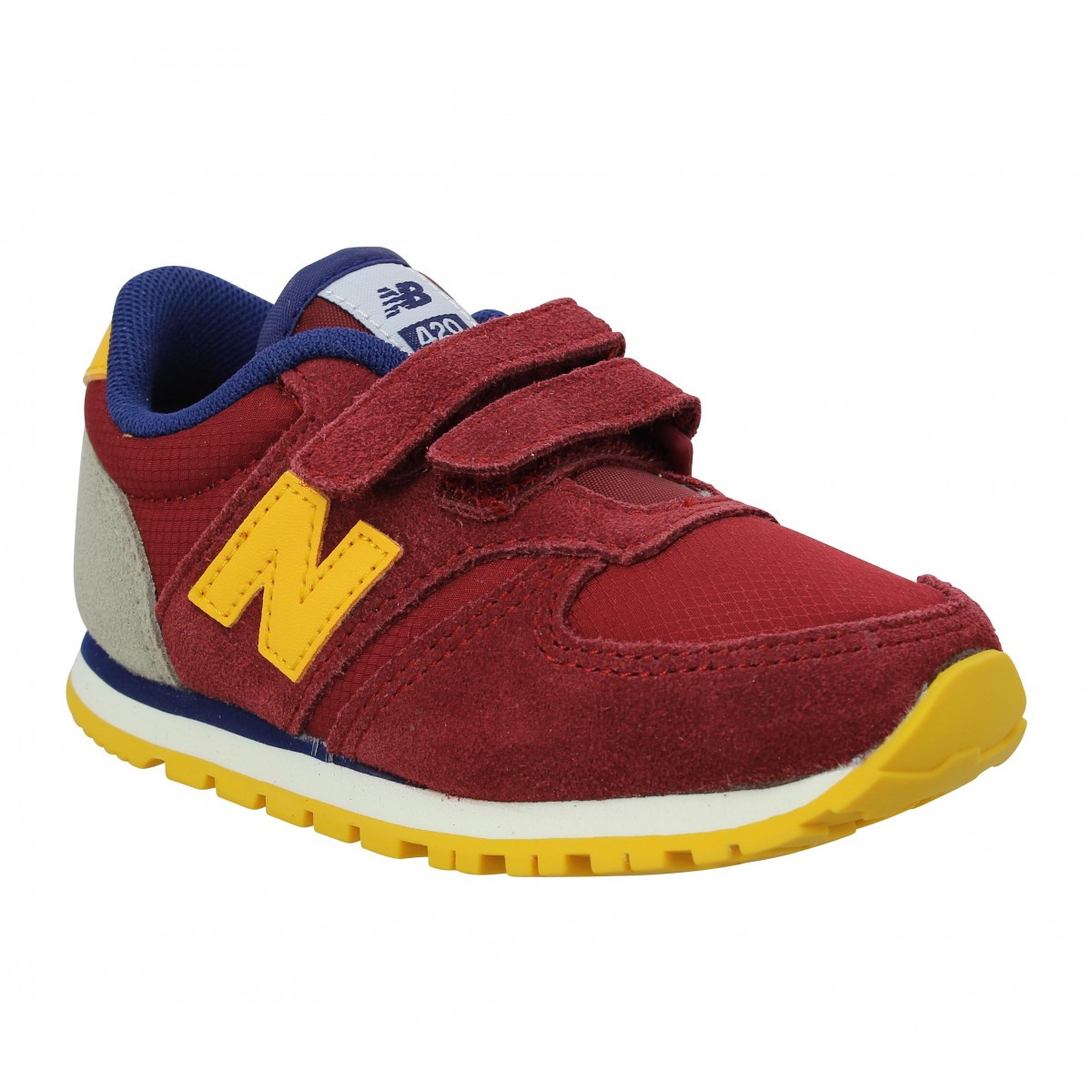 Baskets NEW BALANCE KE 420 Enfant Bordeaux