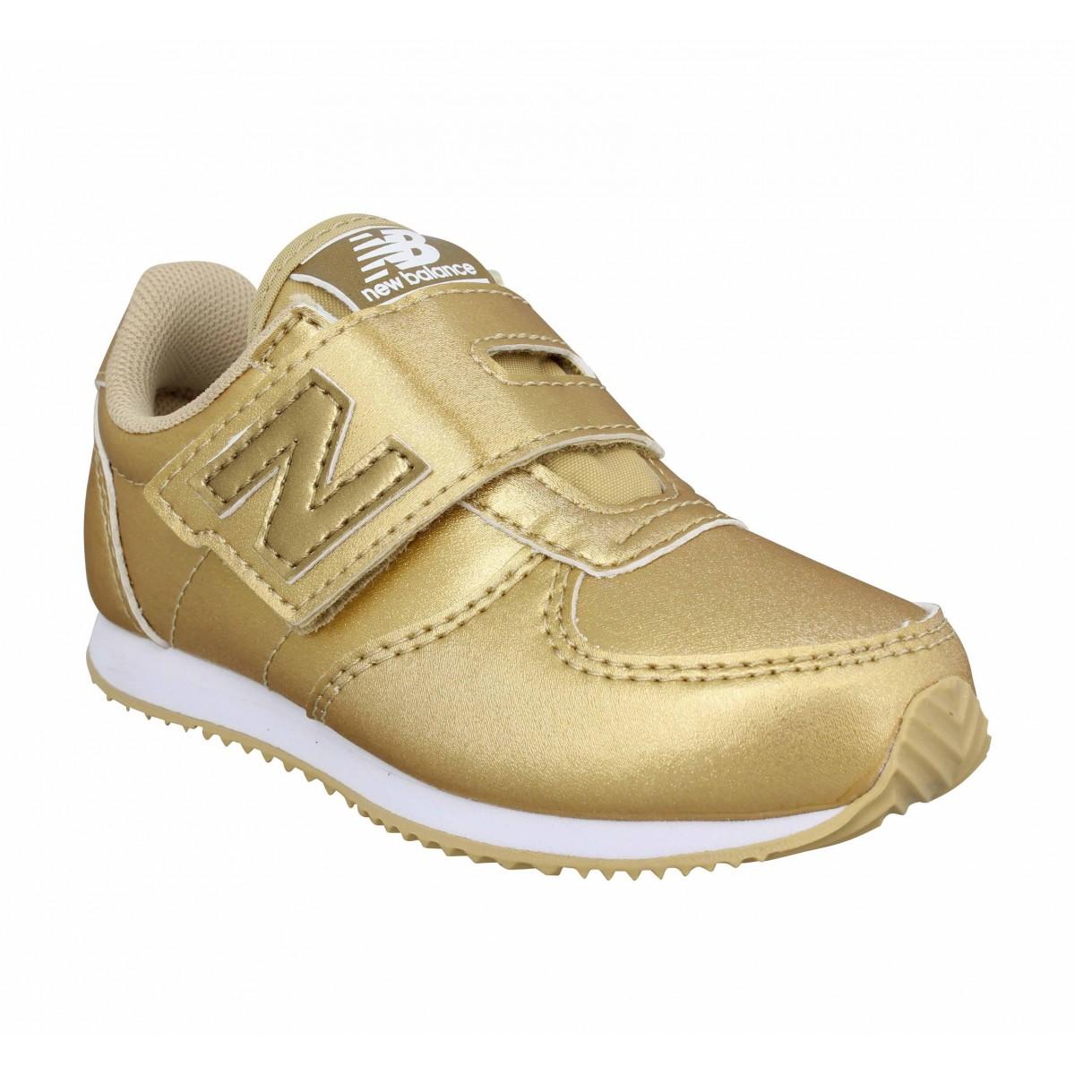 New balance kv220 simili enfant or enfants   Fanny chaussures a325e72bf871