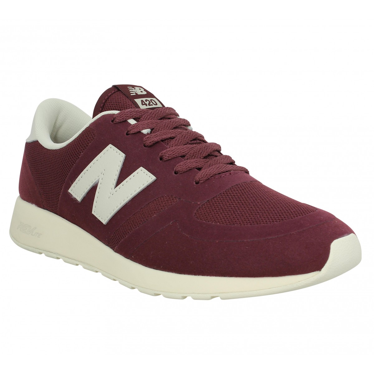 Baskets NEW BALANCE MRL 420 mesh Burgundy