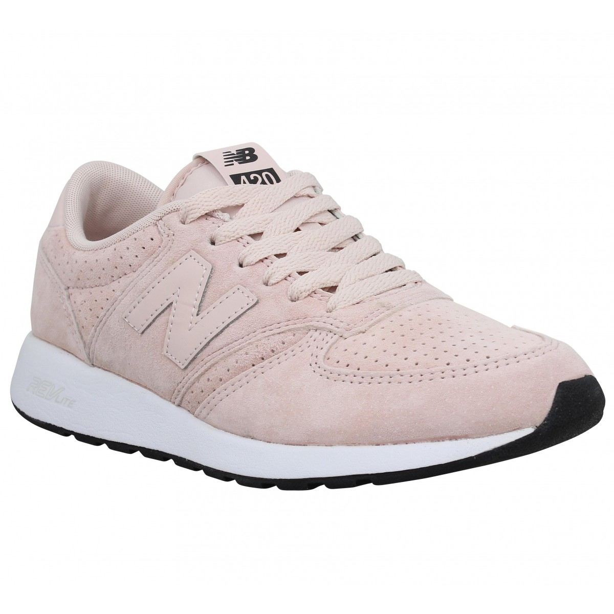 NEW BALANCE MRL 420 velours Rose