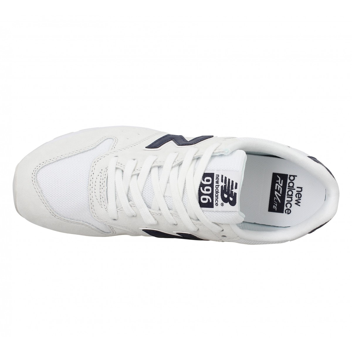 New balance mrl 996 blanc marine homme   Fanny chaussures