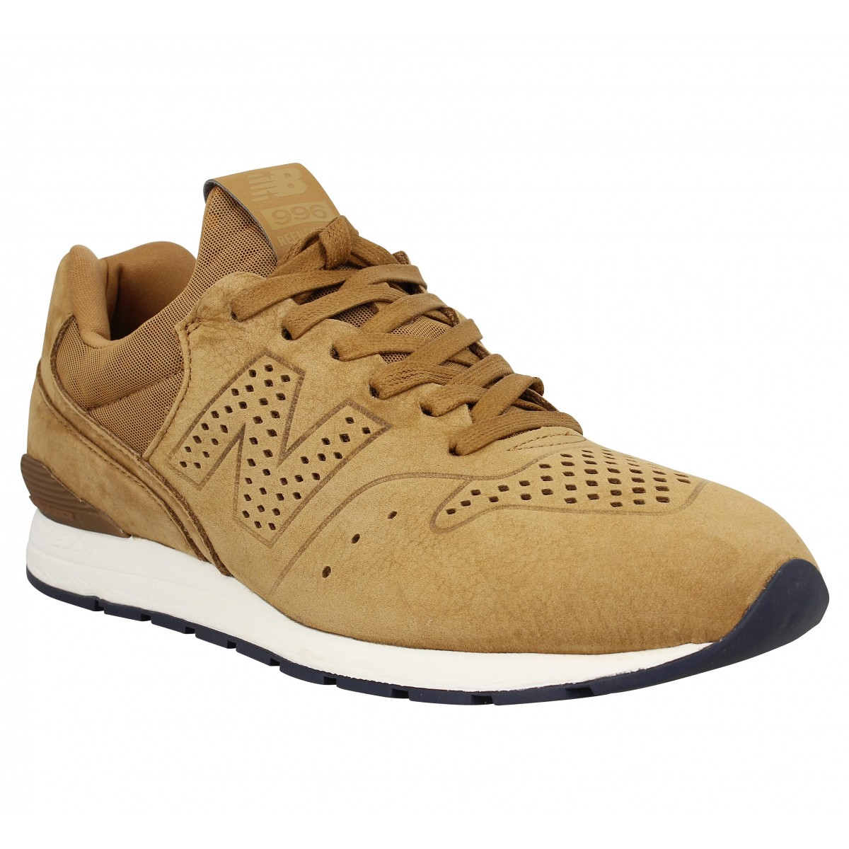 Baskets NEW BALANCE MRL 996 nubuck Cognac