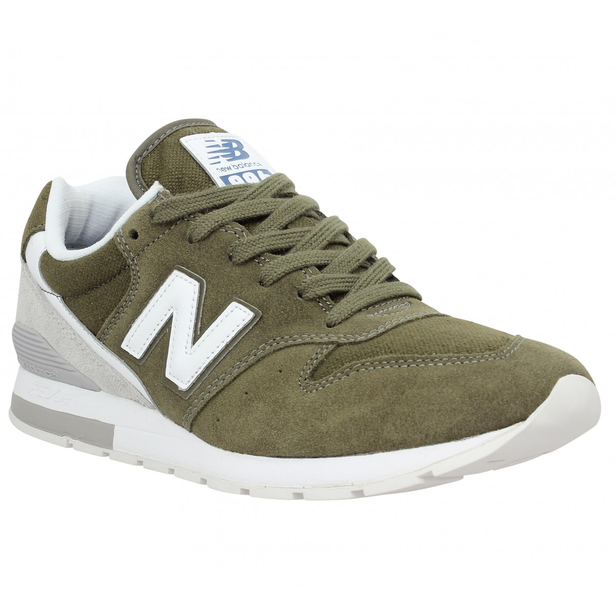 Baskets NEW BALANCE MRL 996 velours Homme Green