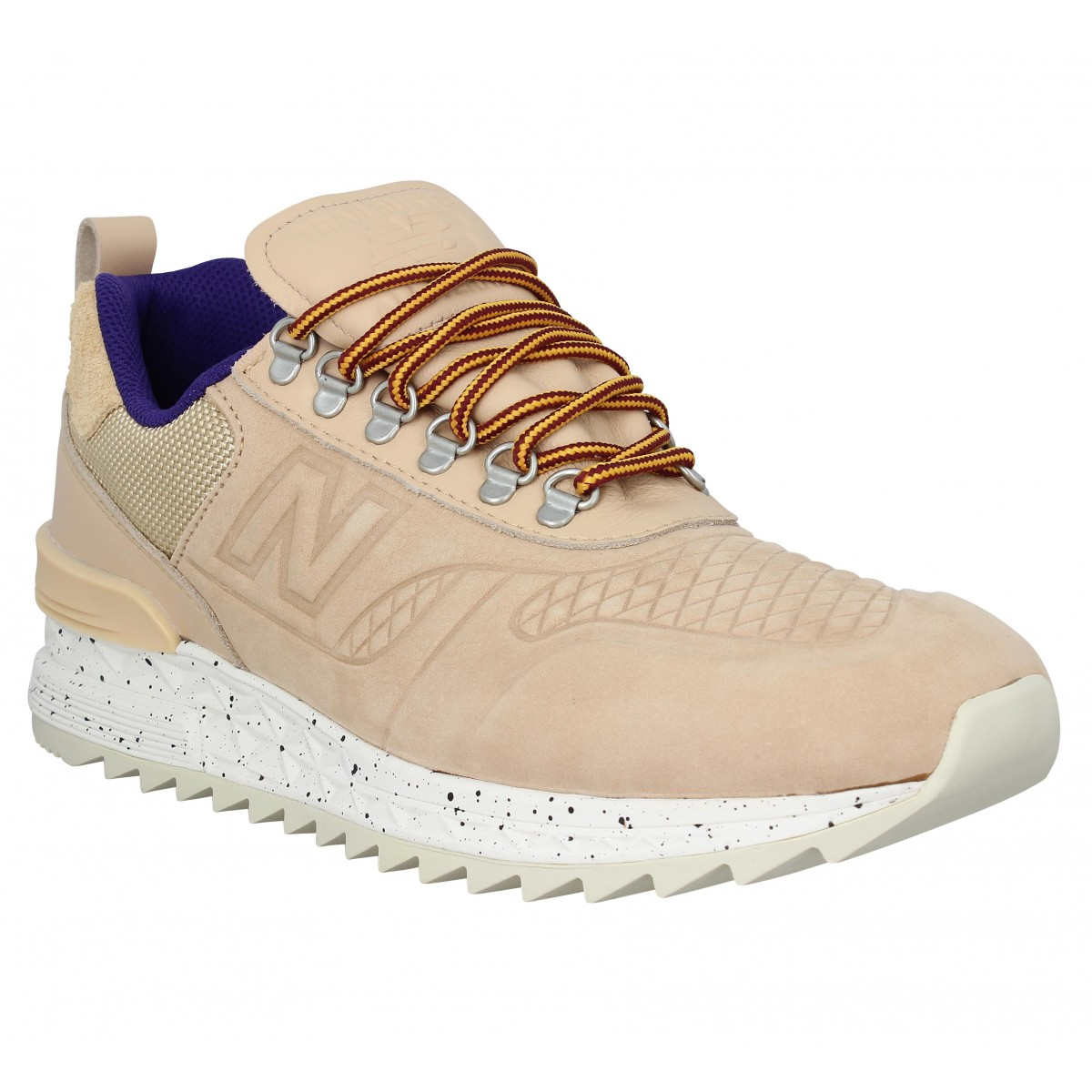 Baskets NEW BALANCE Tbatra Trail Buster nubuck Homme Tan
