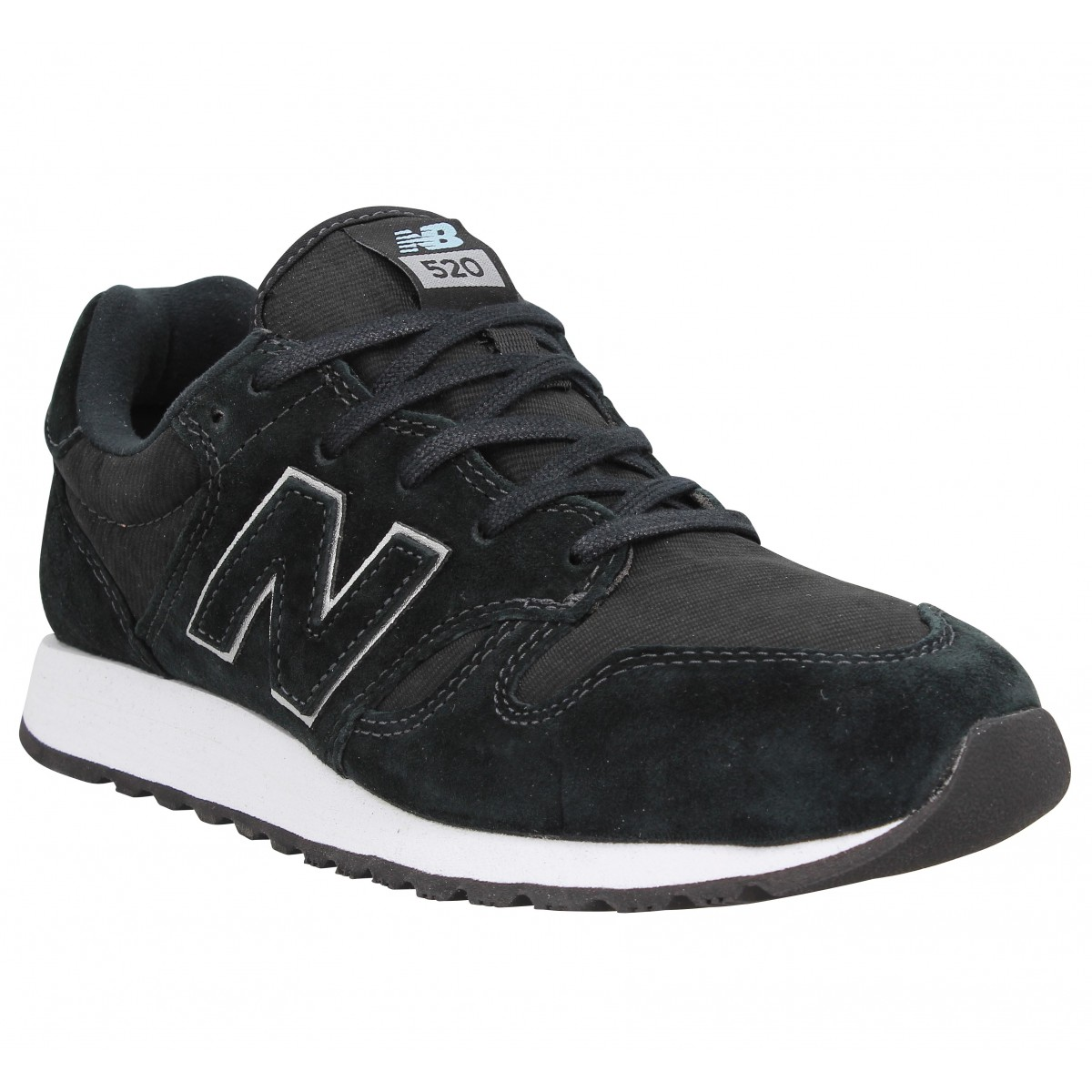 New Balance Marque Wl 520 Velours Toile...