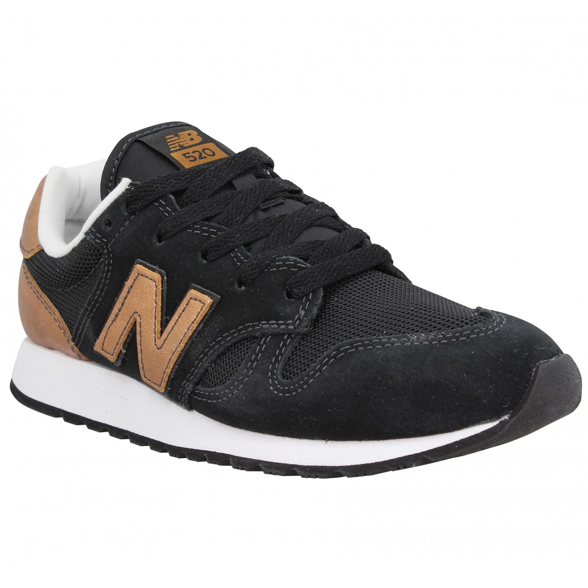 new balance 520 noir et or