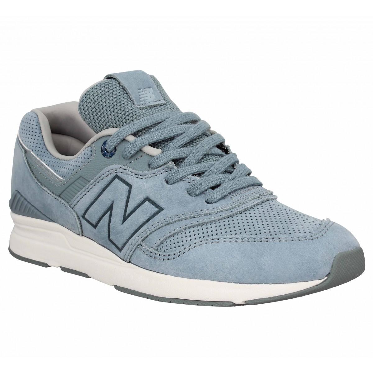 New Balance Femme Wl 697 Nubuck -38-bleu