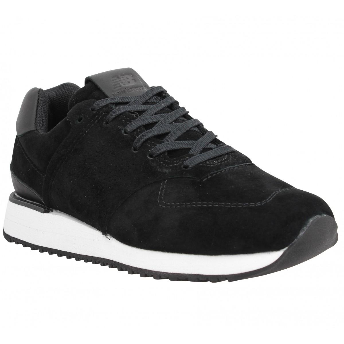 new balance wl745 velours femme noir femme fanny chaussures. Black Bedroom Furniture Sets. Home Design Ideas
