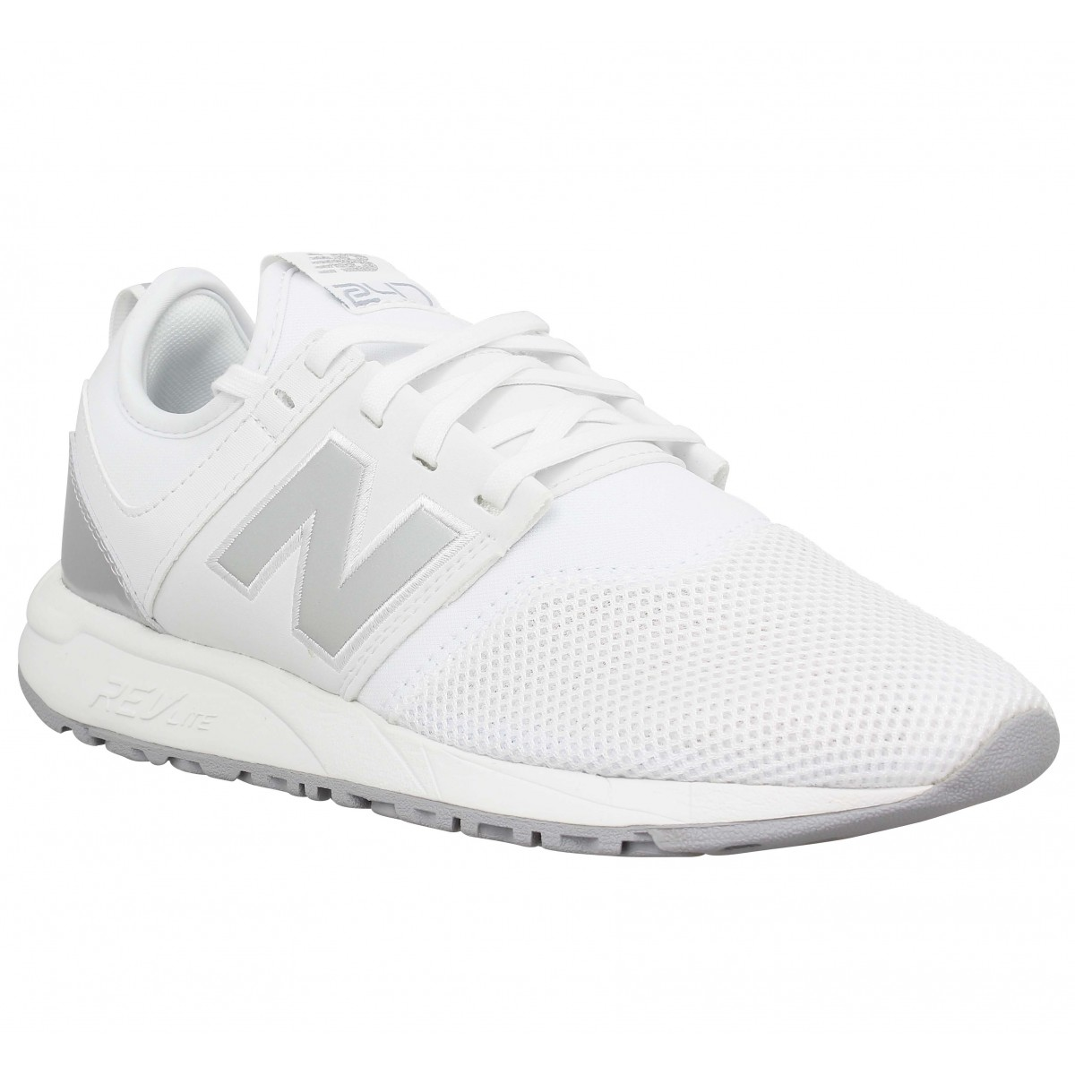 basket new balance blanc