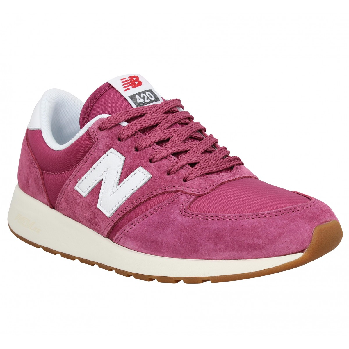 New Balance Marque Wrl 420 Velours Toile...