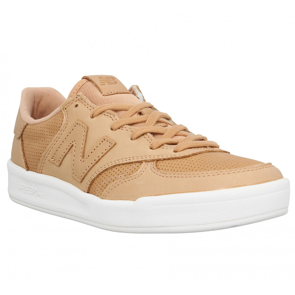 Baskets NEW BALANCE WRT300 cuir Femme Tan