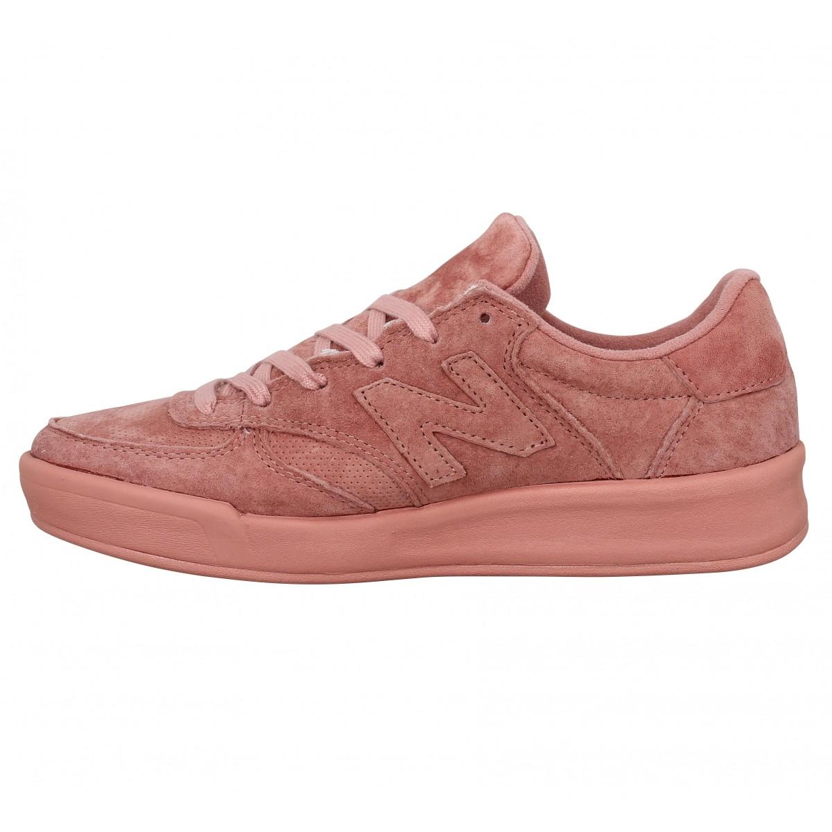 New balance wrt300 velours femme rose femme   Fanny chaussures