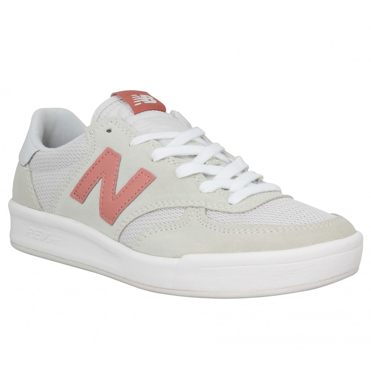 Baskets NEW BALANCE WRT300 velours toile Femme Blanc