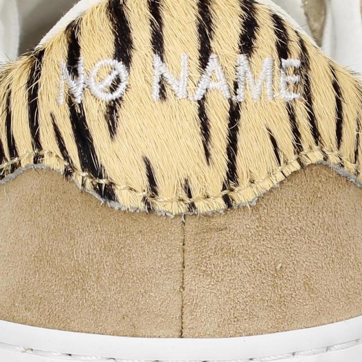 No Name Arcade Sneaker Forever Suede Femme Or Beige