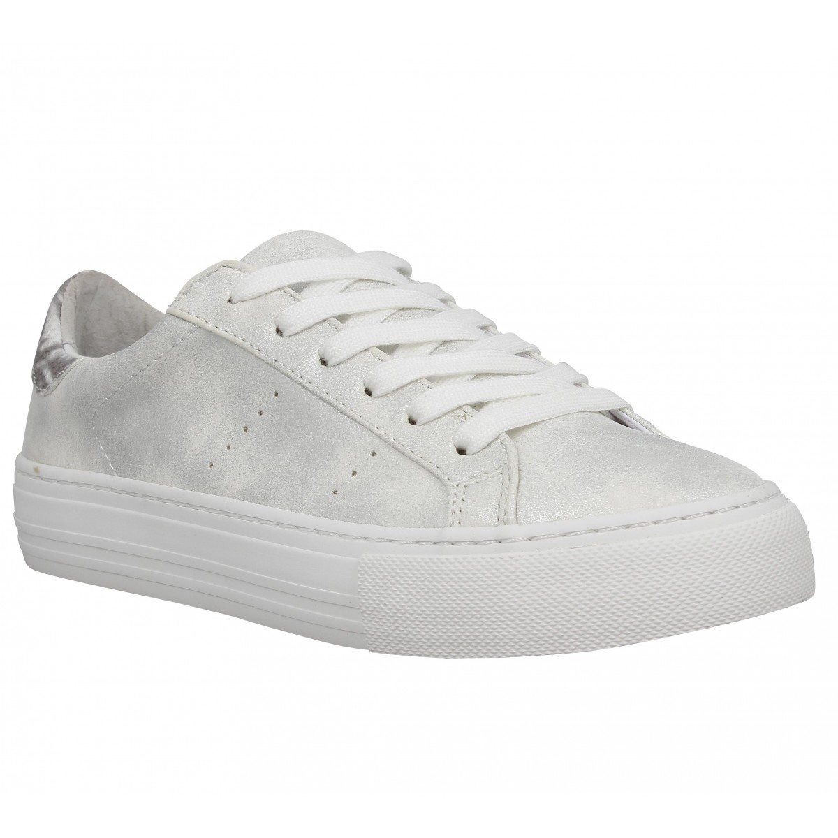 Baskets NO NAME Arcade Sneaker glow Blanc