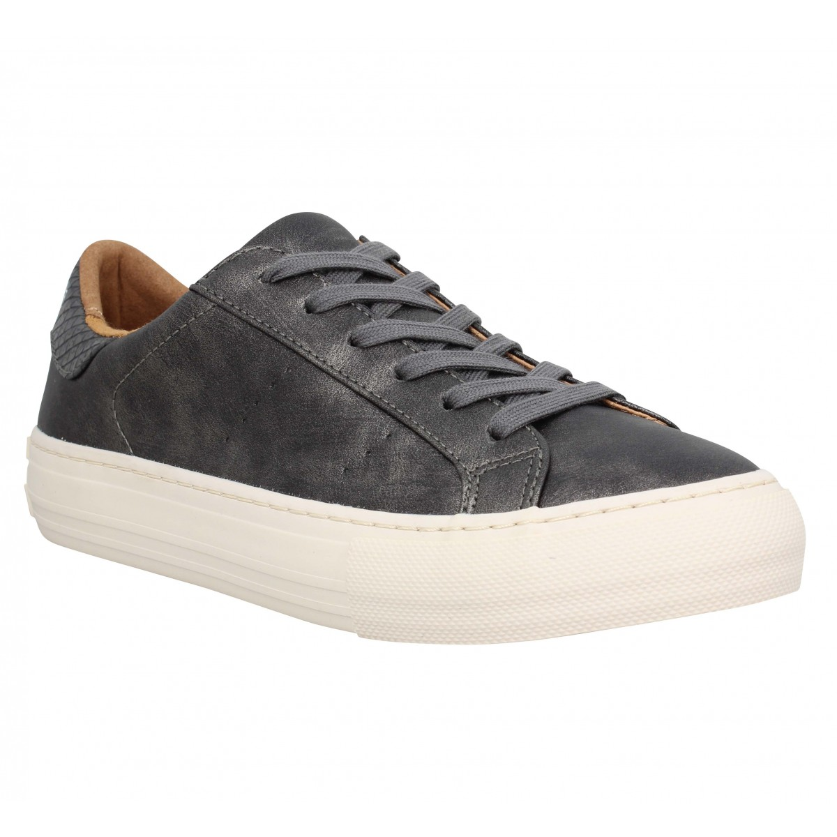 Baskets NO NAME Arcade Sneaker glow Femme Carbone