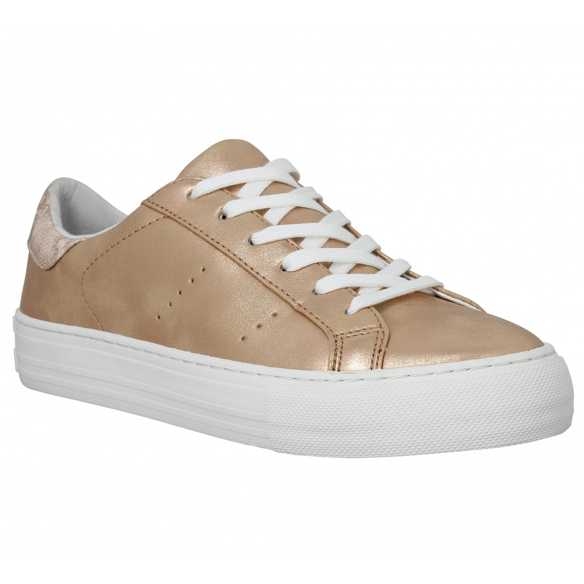 Baskets NO NAME Arcade Sneaker glow Femme Or