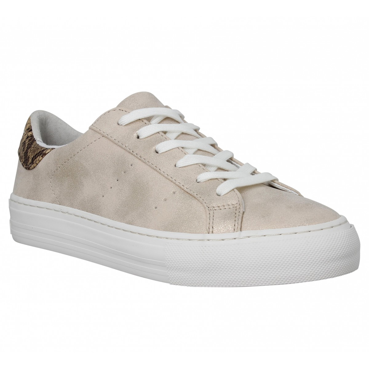 Baskets NO NAME Arcade Sneaker glow Femme Sand