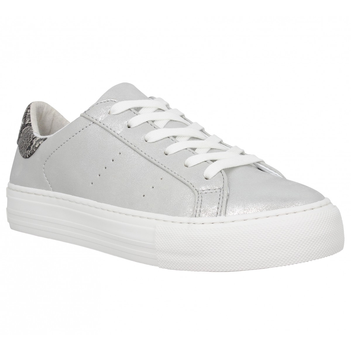 Baskets NO NAME Arcade Sneaker glow Femme Silver
