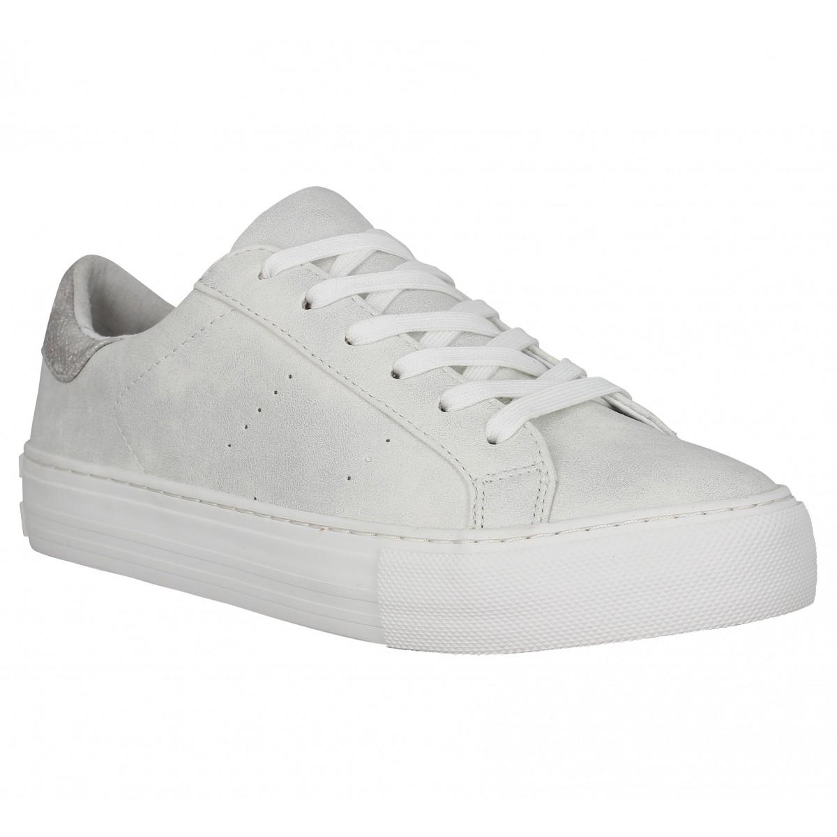 Baskets NO NAME Arcade Sneaker glow Femme White