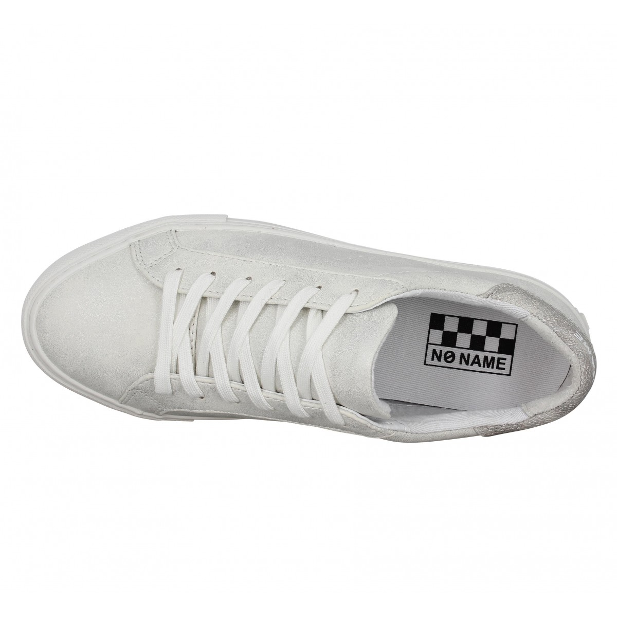 chaussures no name arcade sneaker glow femme white femme fanny chaussures. Black Bedroom Furniture Sets. Home Design Ideas