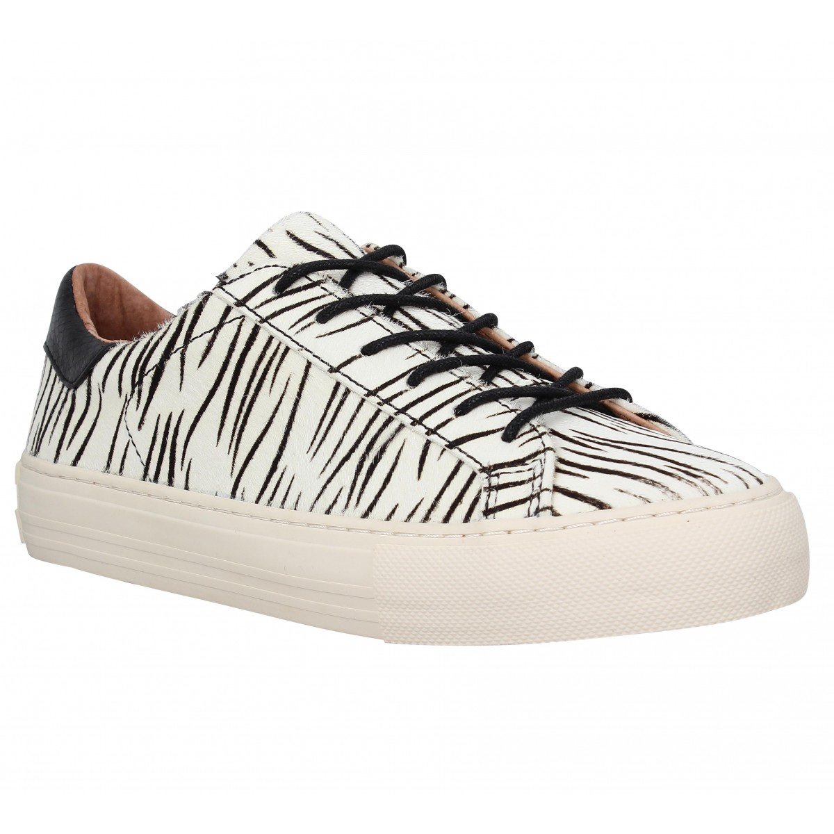 Baskets NO NAME Arcade Sneaker pony Femme Zebra