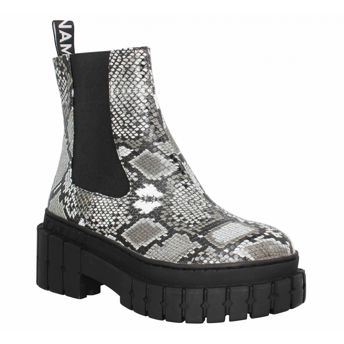 Bottines NO NAME Kross Chelsea kobra Femme White